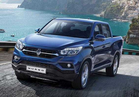 SsangYong: Der neue Musso Pickup